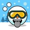 Snoji Face Stickers - Winter Emoji Meme