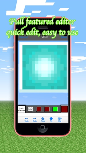 ‎PE Resource Texture Packs for Minecraft Pocket
