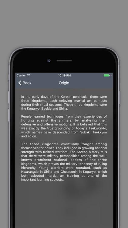 Taekwondo Bible - Poomsae and Terminology screenshot-4