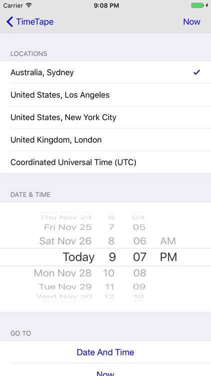 TimeTape Pro - Visual Time Zone Converter