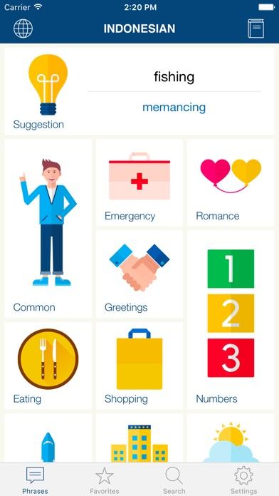 Learn Bahasa Indonesian iPhone