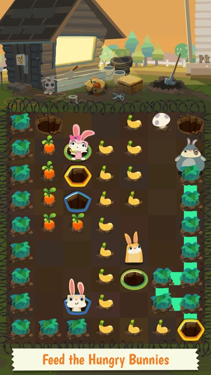 Patchmania - A Puzzle About Bunny Revenge! screenshot-3
