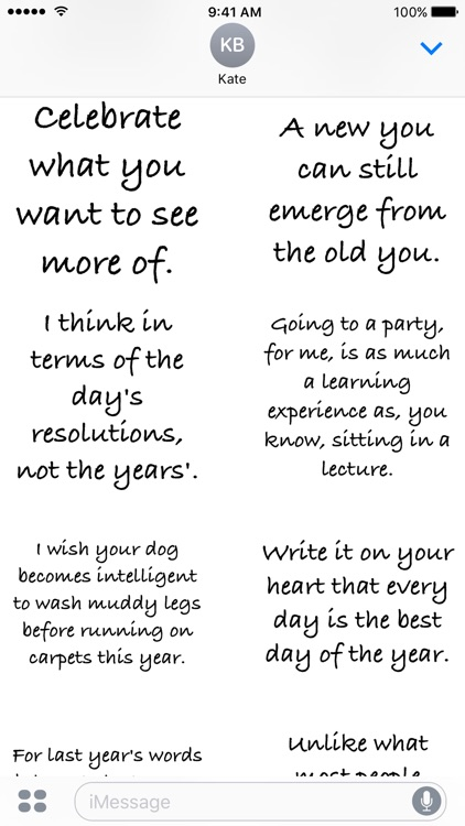 new year quotes a to z stickers screenshot 4