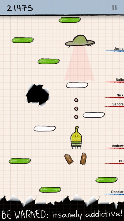 Doodle Jump FREE - BE WARNED: Insanely addictive