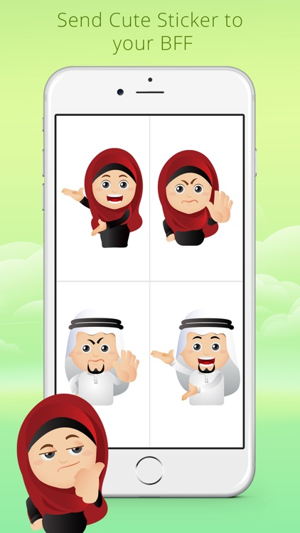 Arabmoji - Stickers screenshot-3