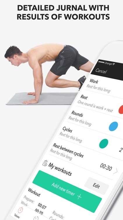 Timer Pro - Workouts Timer screenshot-4