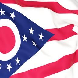 Ohio Flag Stickers