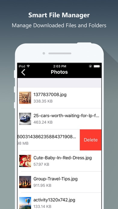 Screenshot #7 for Private Browser PRO - Safe Browsing & File Manager