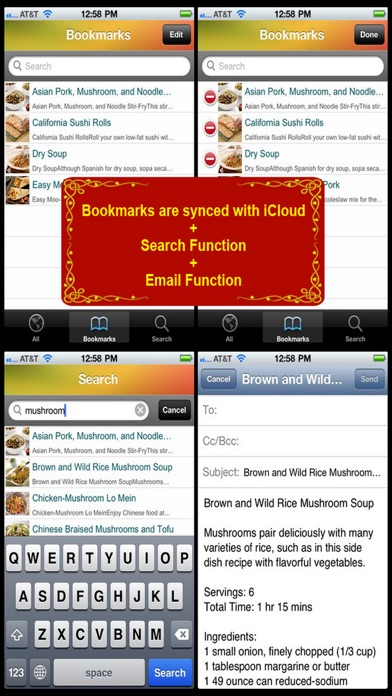 Chinese Cuisine Recipe review screenshots