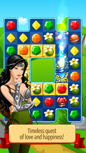 ‎Knight Girl - Match 3 Puzzle Screenshot
