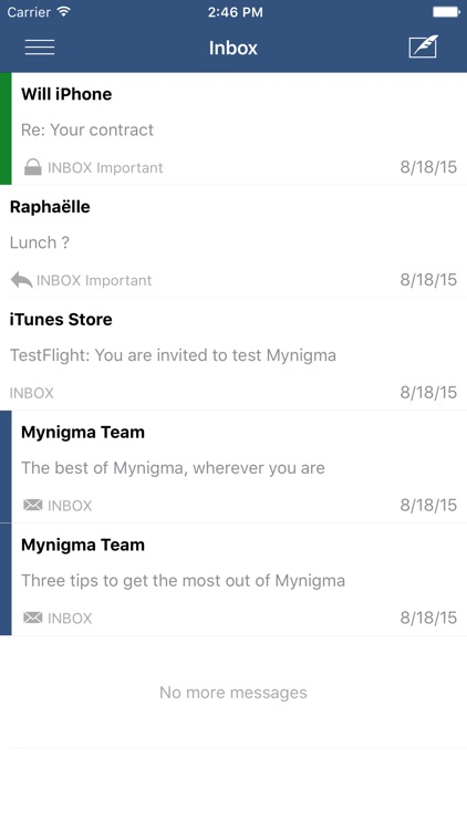 Mynigma - Safe email made simple