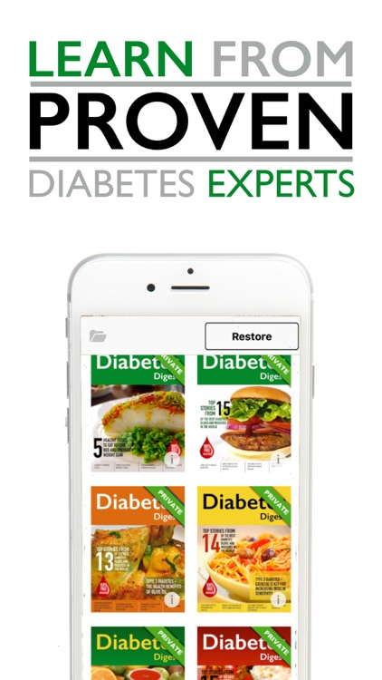 Diabetes Digest - Diabetic Mag screenshot-1
