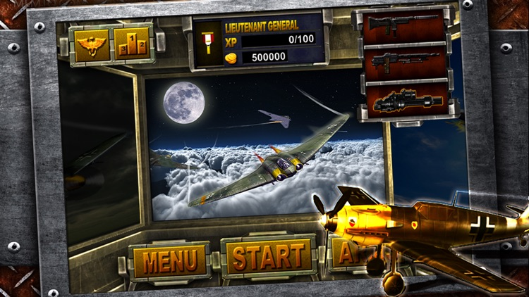 Turret Commander - shoot from B17 top machine gun screenshot-2