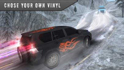 雪の 3 D シミュレータ運転 - 4 x 4 プラド ドライバー ゲームのおすすめ画像2