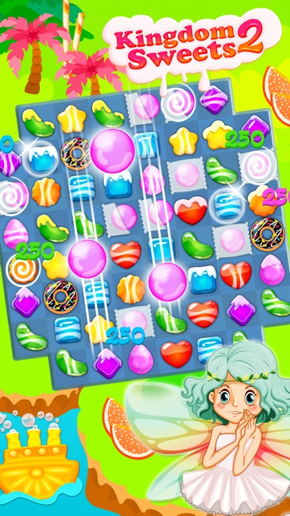 Kingdom of Sweets 2: Match-3 screenshot-3