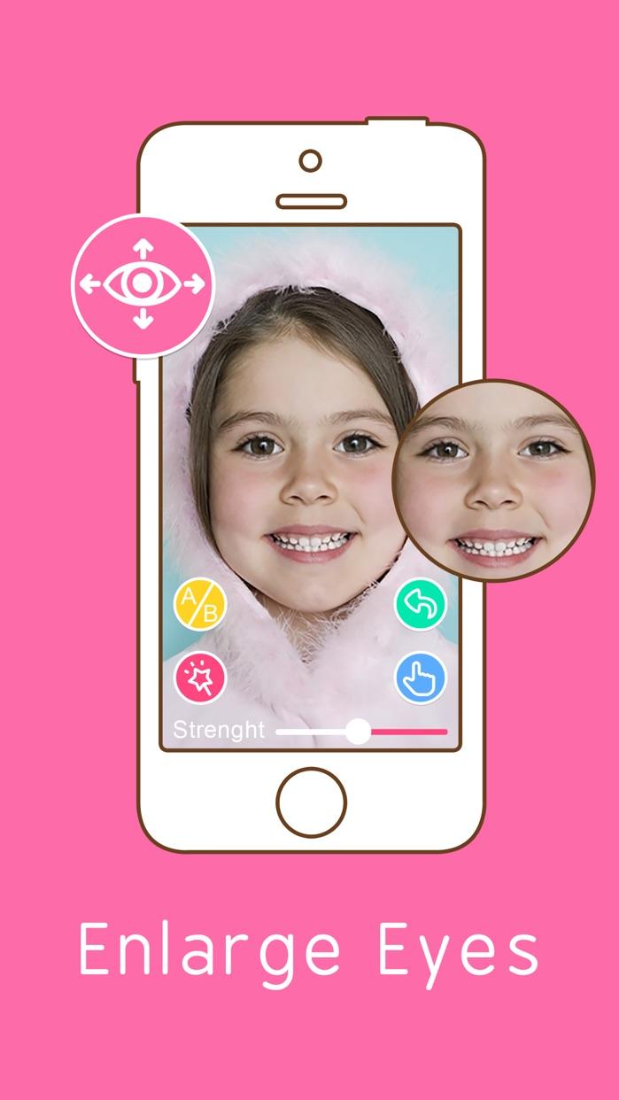Eye Color Changer - Swap Face Makeup Photo Editor Screenshot
