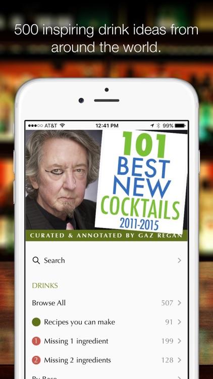 gaz regan's 101 Best New Cocktails