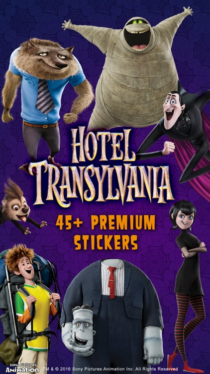 Hotel Transylvania ™ Stickers screenshot-0