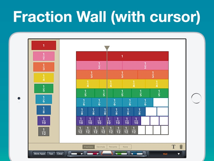 Fraction Tiles Manipulative