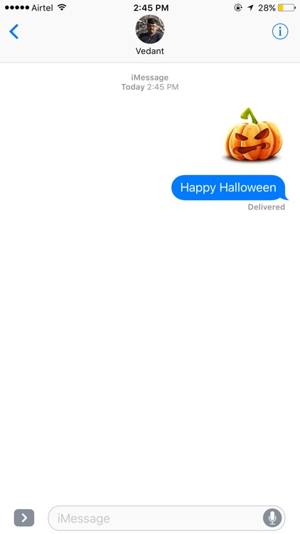 Halloween Stickers & Emoji.s Pack Booth for 2016