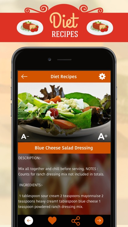 Diet Recipes screenshot-3