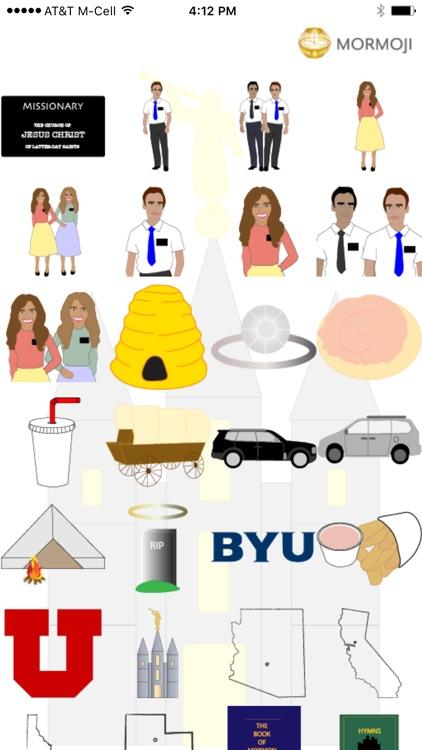 Mormoji Mormon Emojis