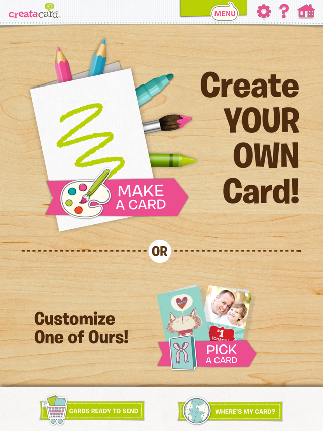 Creatacard Card Maker Create And Send Birthday Cards And More On