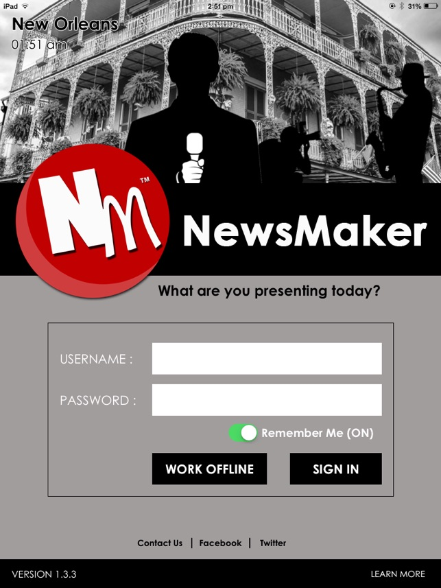 newsmaker on the app store