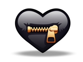 Crazy Heart Stickers