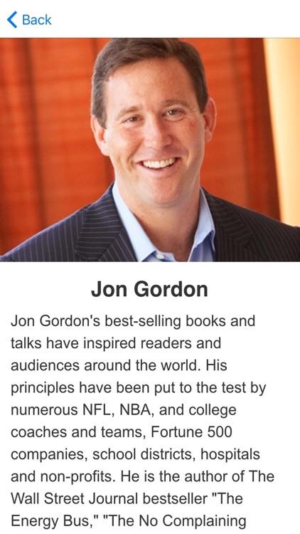 The Energy Bus by Jon Gordon Meditations Audiobook