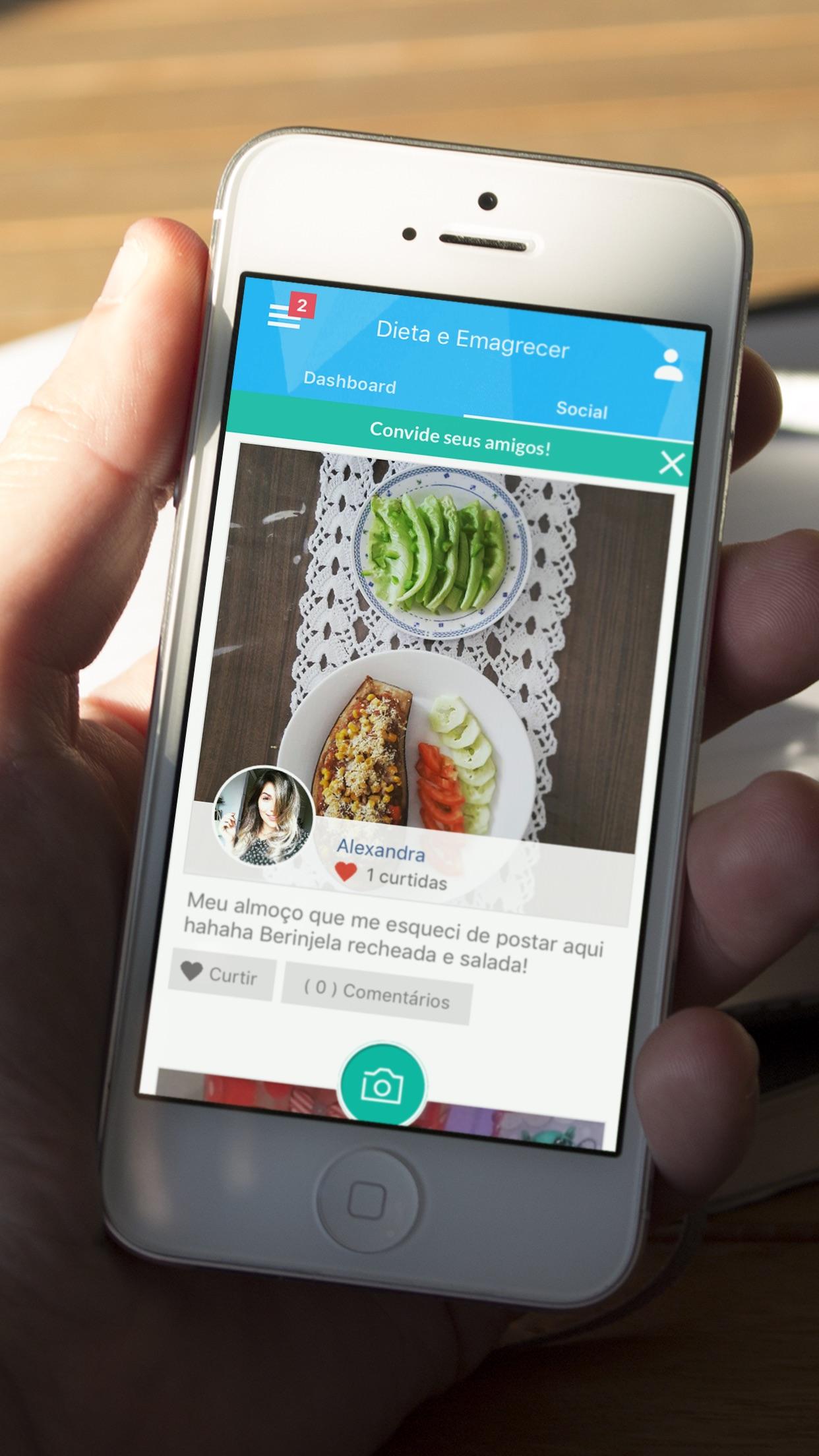 Dieta e Emagrecer Screenshot