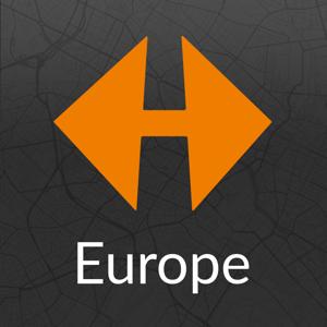 NAVIGON Europe app