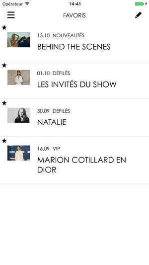 ff0427b2a2 DIORMAG, Toute l'actualité de la maison Dior dans l'App Store
