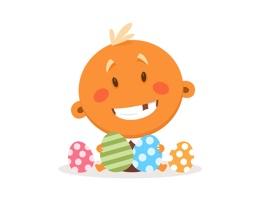 Baby Cute Sticker - Emoji