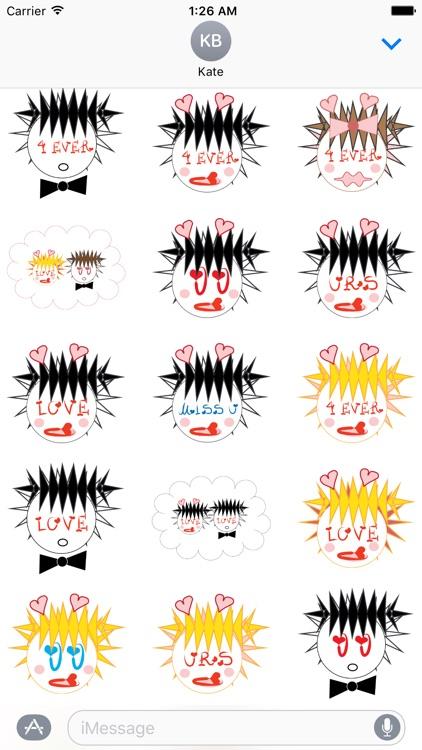 True Love Forever emoji stickers - Miss you always