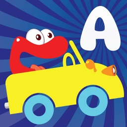 Alphabet car game for kids,for Toddler,Preschooles
