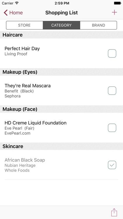 myBeautyCache: Makeup & Beauty Product Organizer screenshot-4