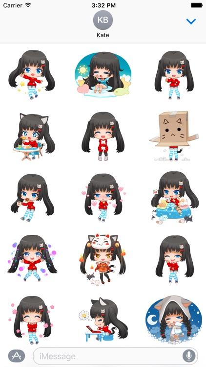 Nyao Nyanko Stickers