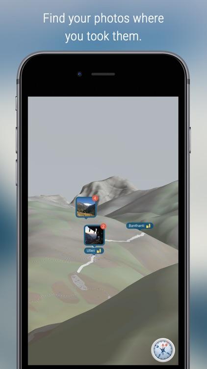eyeMaps - Augmented Reality 3D Map of the world screenshot-3