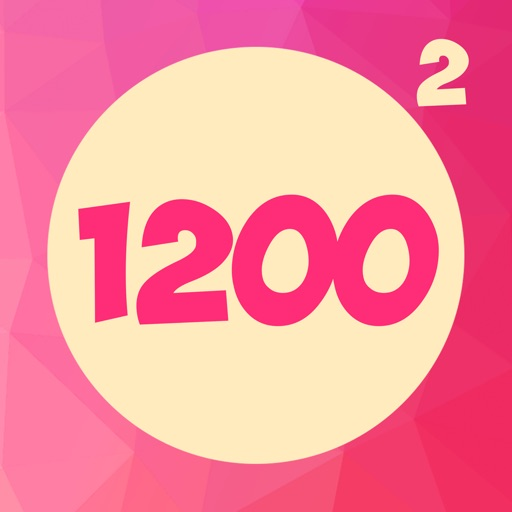 1200: Double Hit - Two Color Dots Addictive Puzzle
