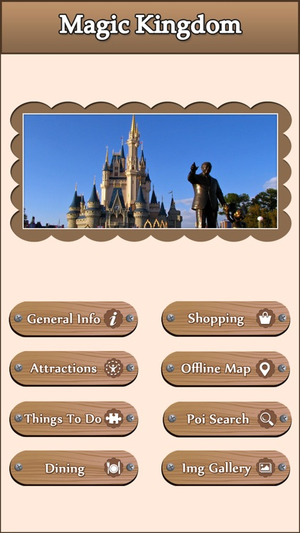 Best App For Walt Disney World Magic Kingdom