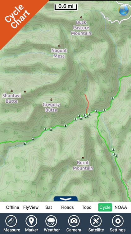 Zion National Park - GPS Map Navigator screenshot-3