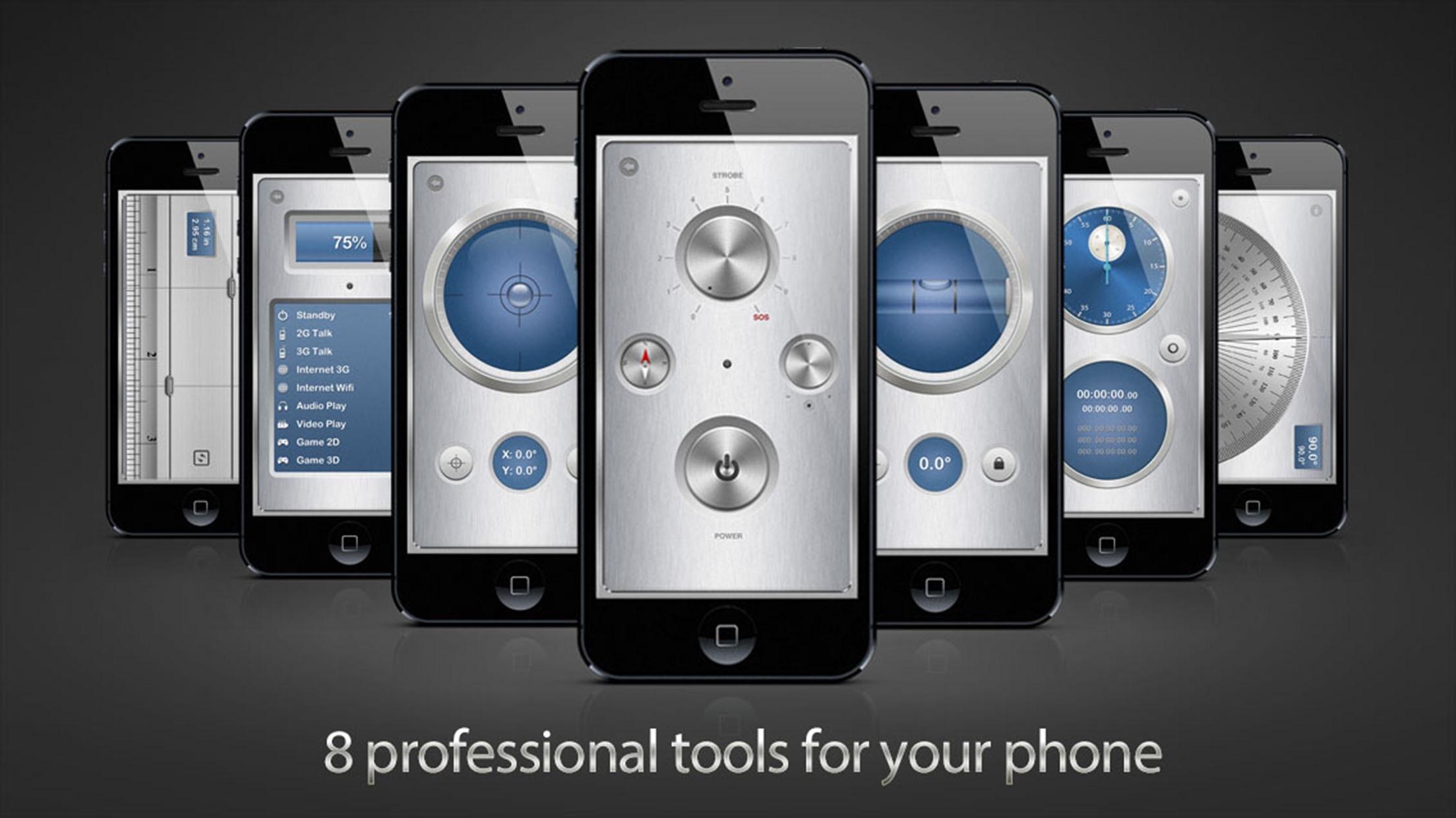 iMetalBox: Handy all-in-1 toolkit Screenshot