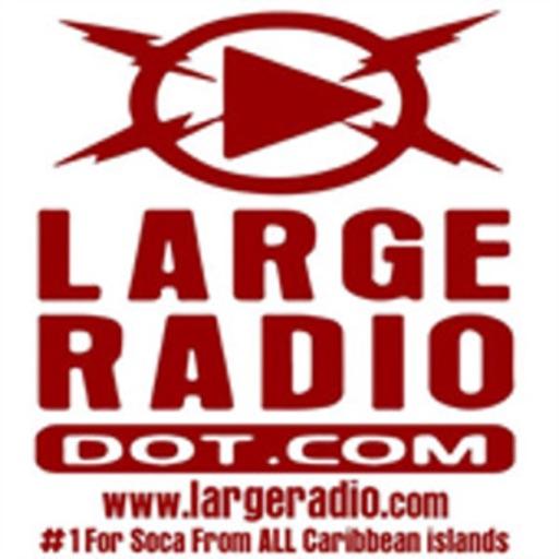 large radio small island