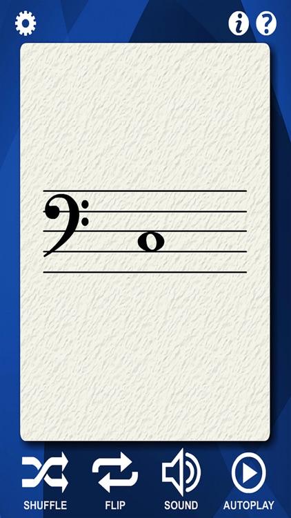 Bassoon Flash Cards