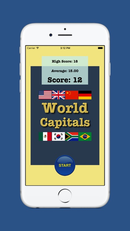 World Capitals Game