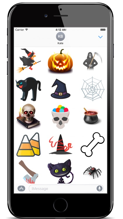 Halloween Spooky Stickers For iMessage App