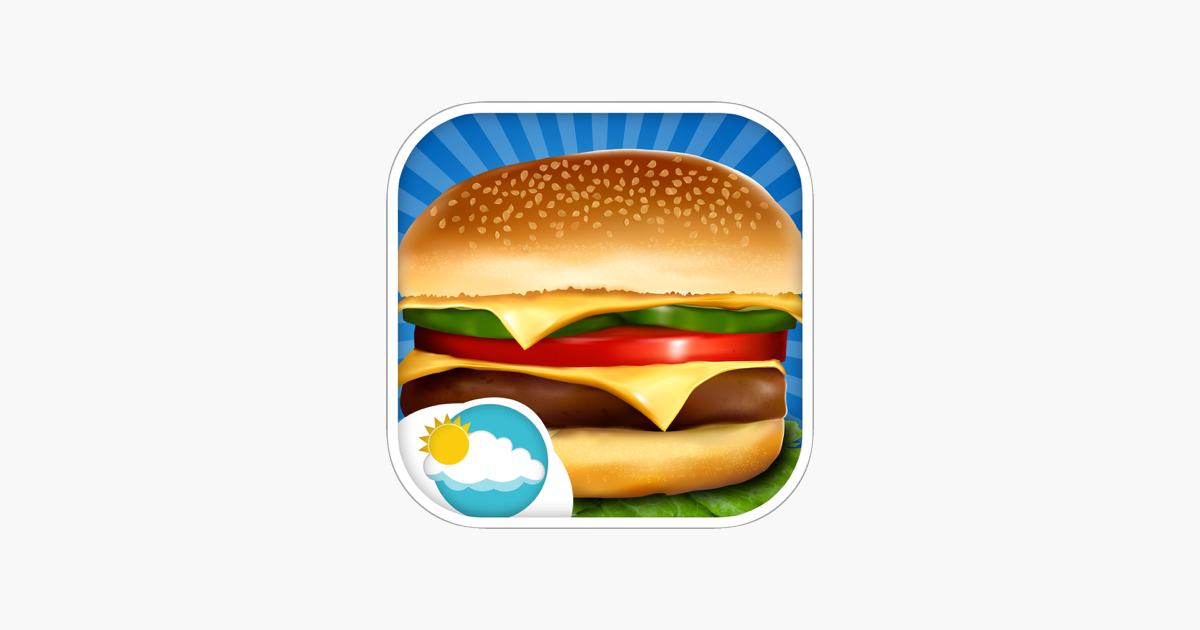 Sky Burger Pembuat Memasak Demam Permainan Anak Di App Store