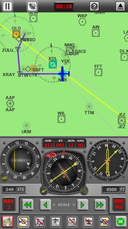 Radio Navigation Simulator - IFR for Pilots screenshot-3