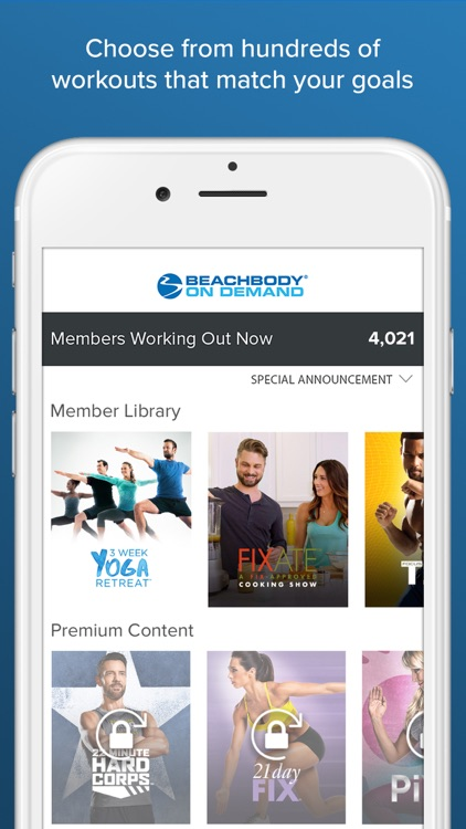 Beachbody On Demand – The Best Fitness Workouts app image